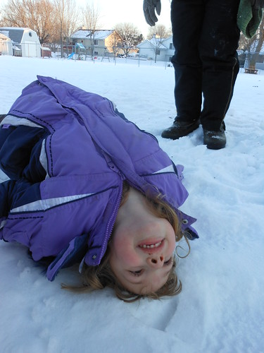 Have You Thrown Your Kid in the Snow Today? by virithos