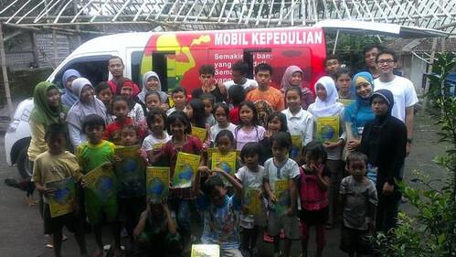 mobilKEPEDULIAN 2 & Sembako Buku
