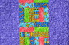 """""""You Bug Me"""" Log Cabin Quilt - Back by J Taylor Quilts"""