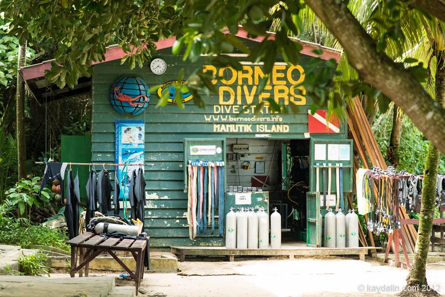 Borneo Divers, Mamutik island