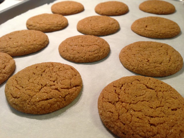 Big Soft Ginger Cookies | Flickr - Photo Sharing!