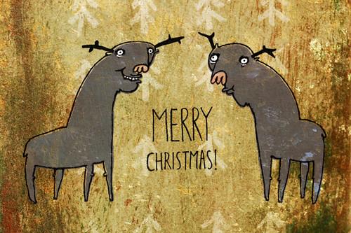 Merry Christmas! by Sasha Solovjova