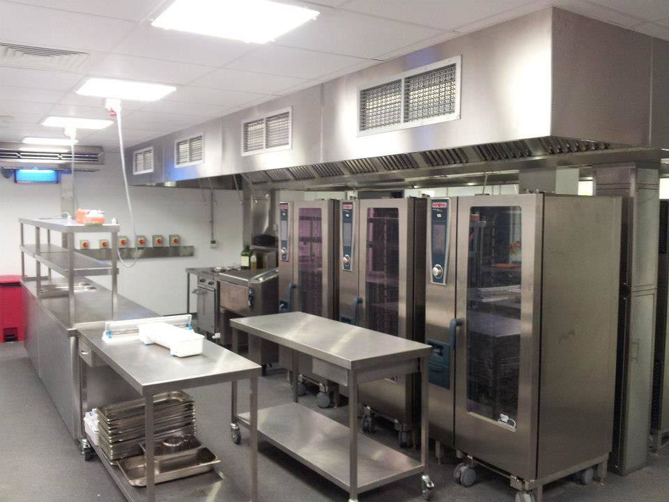 Heat Guard For Commercial Kitchen