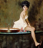 Robert McGinnis _ The only Girl in the Game by uk vintage