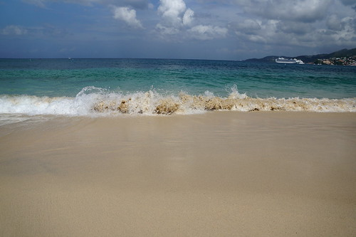 sea sun holiday hot beach water sunshine boat sand waves sony grenada views caribbean alpha a77 carrabean