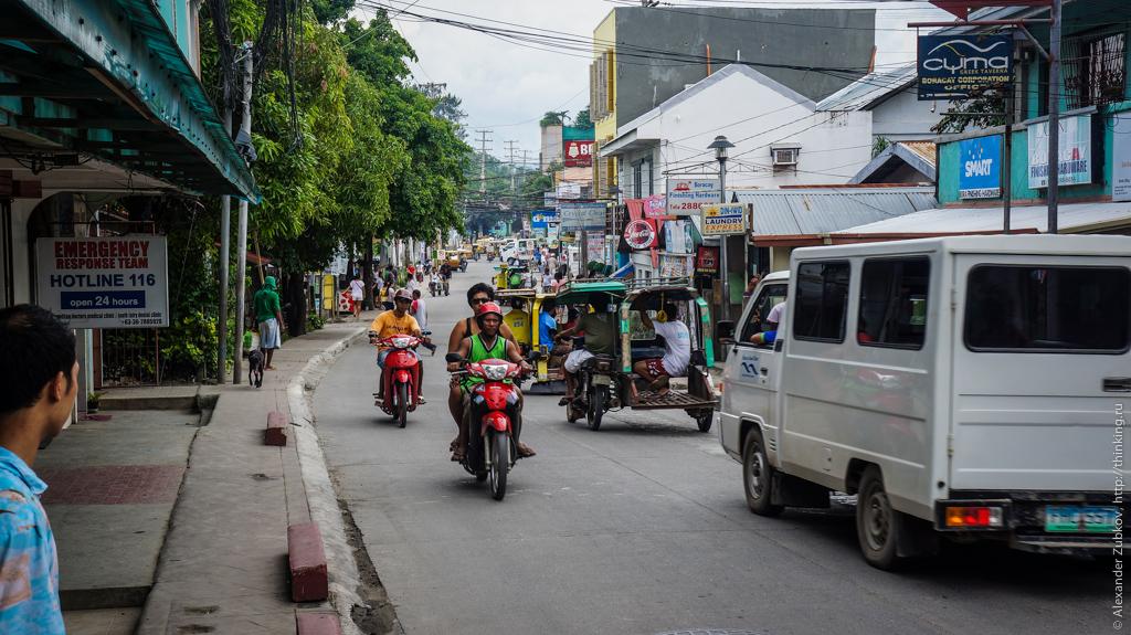 Главная улица Боракая