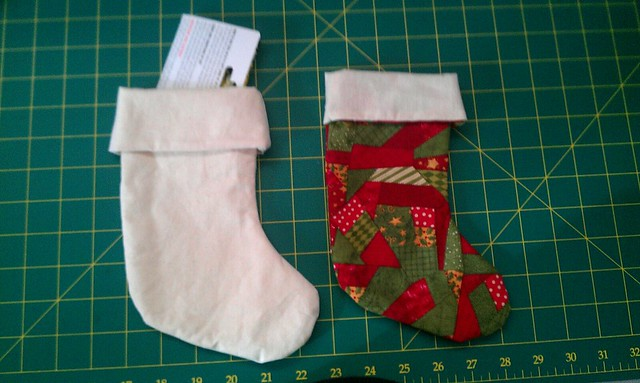 Christmas 2012 Giftings - Mini Stockings