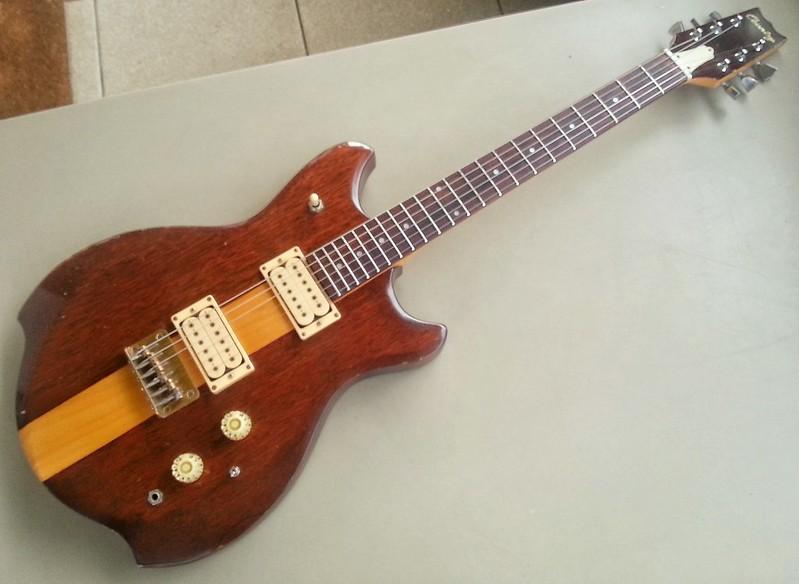 "Guitare ""Country"" de l'atelier Matsumoku ou Kasuga, Japon"