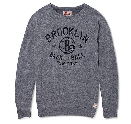 Brooklyn Nets Crewneck Sweatshirt By Sportiqe