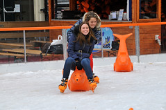 winter sport(0.0), sports(0.0), sledding(0.0), recreation(1.0), snow(1.0), outdoor recreation(1.0), ice skating(1.0), ice rink(1.0),