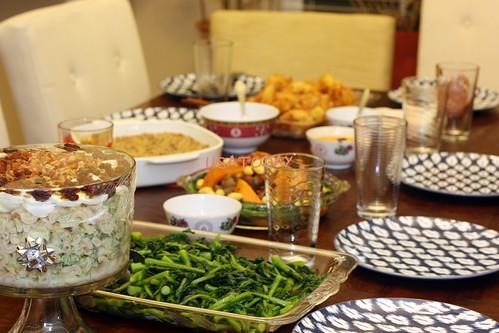 2012 xmas dinner 1