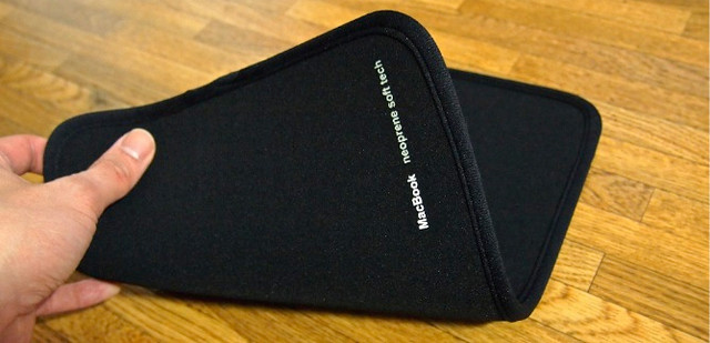 SANWA SUPPLY Mac Book Air用プロテクトスーツ(11.6インチワイド) IN-MAC11BK_4