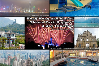 Hong Kong and Macau Itinerary 3 Days: Theme Park Hopper