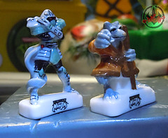 PRIME :: TORTUES NINJA  porcelain miniature prototypes v (( 2009 ))