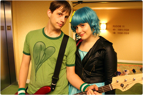 Scott Pilgrim and Ramona Flowers