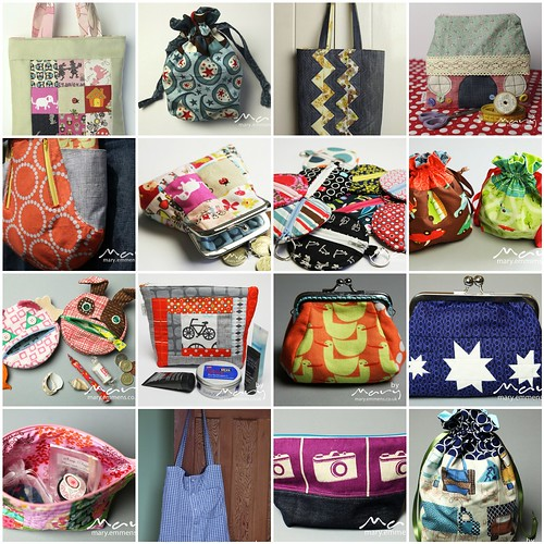 Bags, pouches and purses finished in 2012