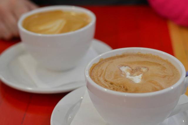 Latte & mocha