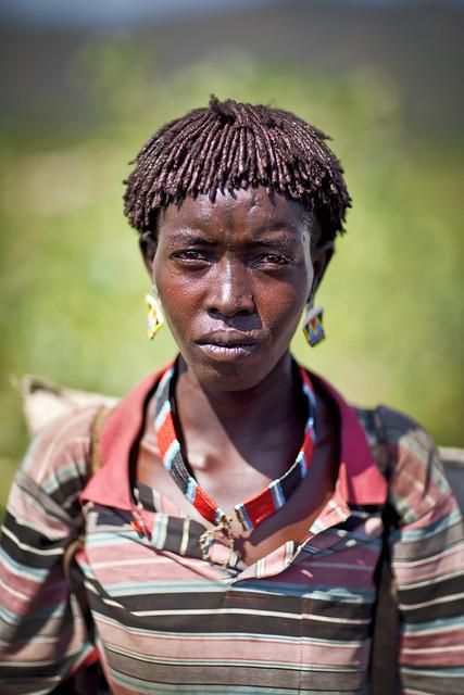 Tsemay woman - Ethiopia