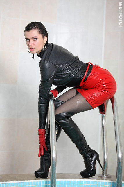 Black Tights Red Shoes