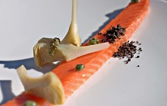 salmon, sashimi, fish, sushi, produce, food, dish, cuisine, smoked salmon,
