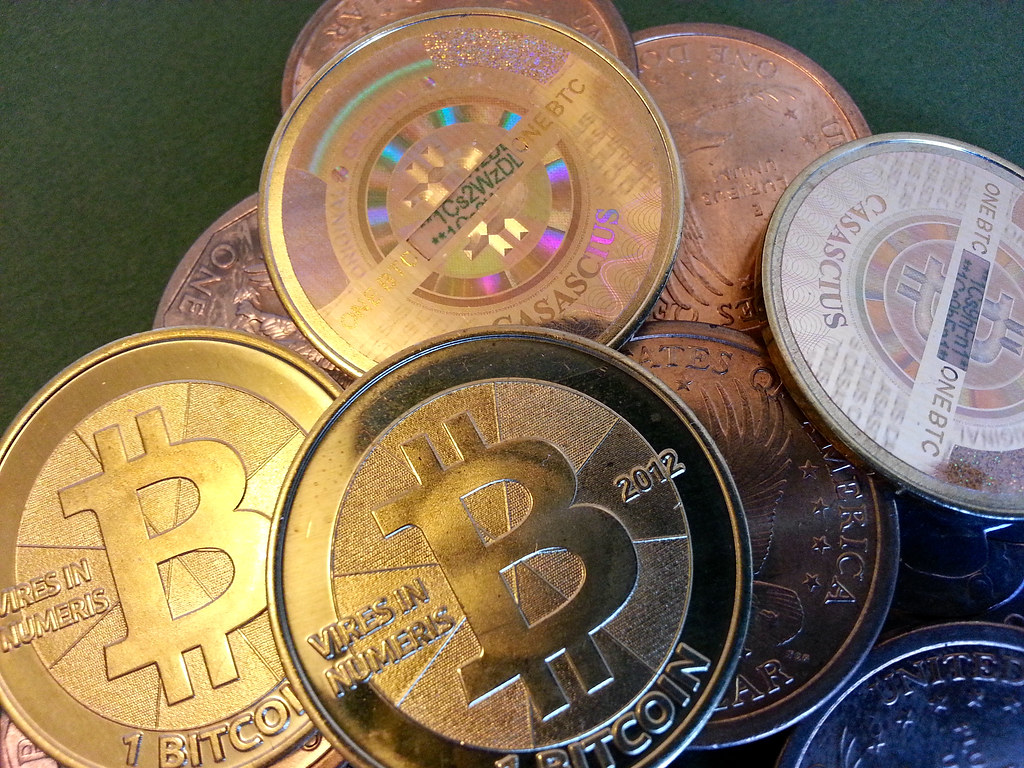 One BTC coins