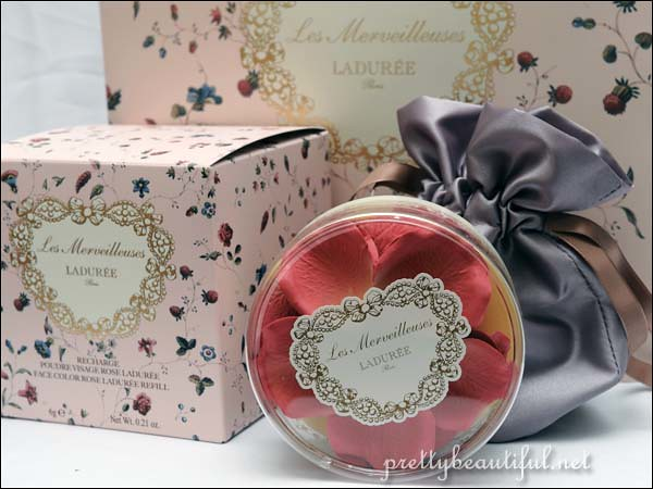 Ladurée Face Color Rose Petals Brand New