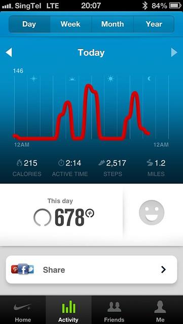 Nike+ FuelBand - iOS App
