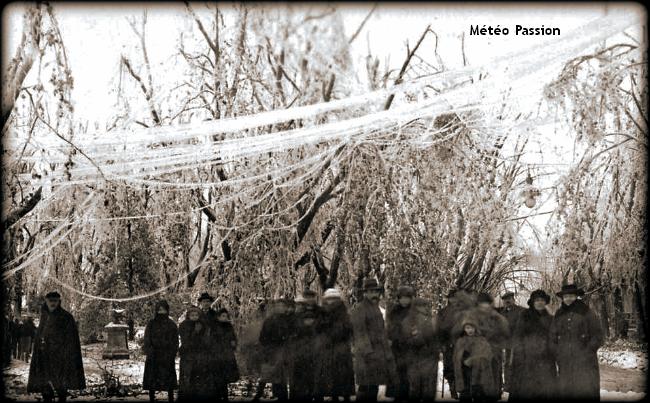 narbonnais en promenade dans les parcs de la ville recouvert de verglas le 20 décembre 1920 météopassion