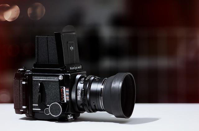 New camera: Mamiya RB67