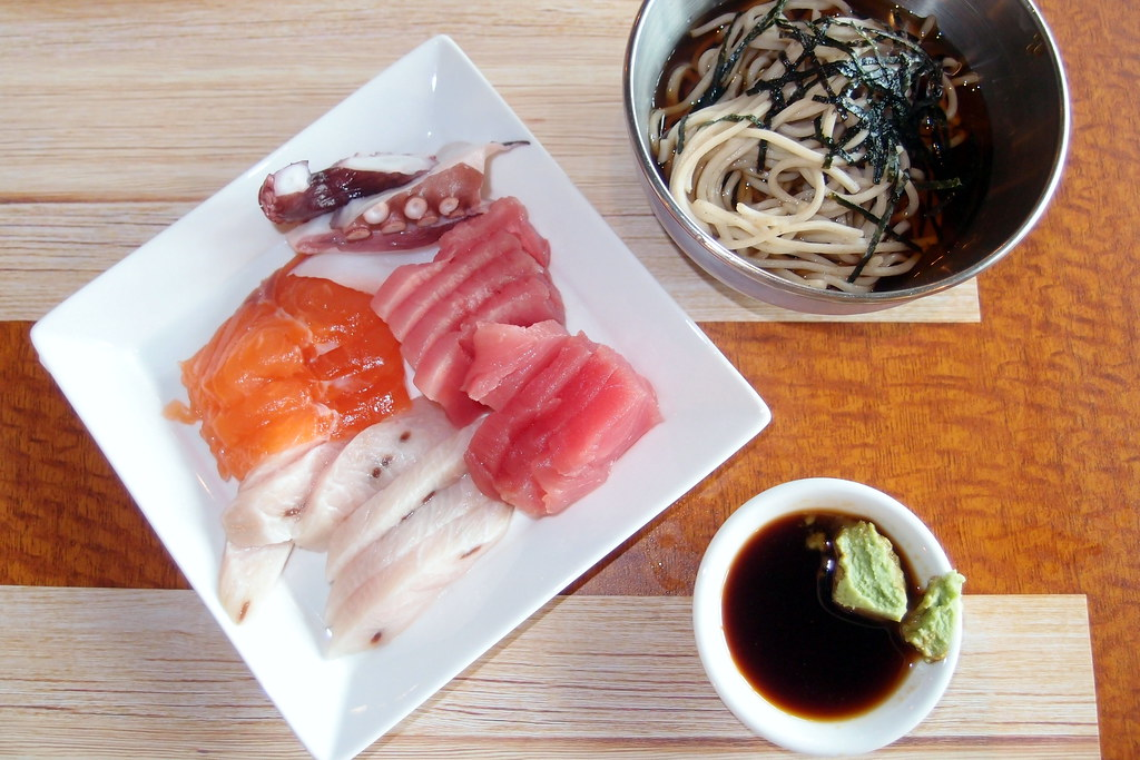 1 Market's Japanese Delights such as Sashimi, Sushi and Soba