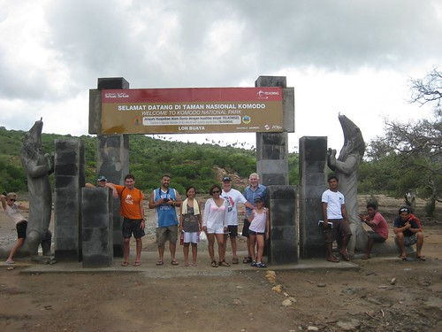 Group Photo at Komodo National Park