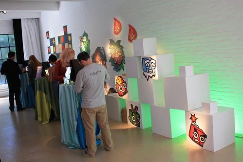 Shop Studios museum risers rental