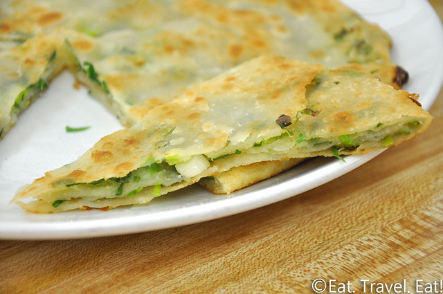 Flavor Garden- Alhambra, CA: Green Onion Pancakes