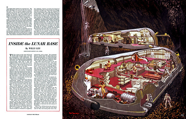 1952 ... 'Man on the Moon: The Exploration'