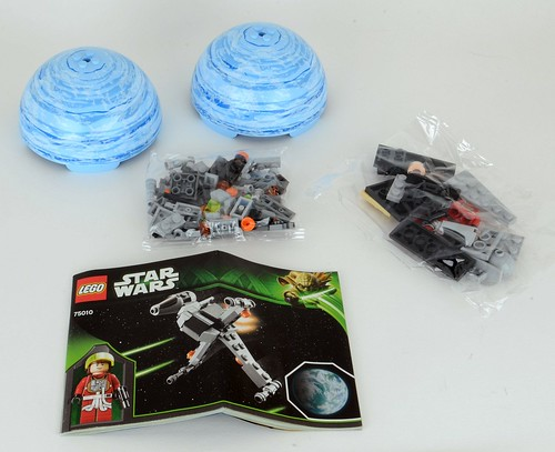 Review 75010 B Wing And Endor Brickset Lego Set Guide And Database