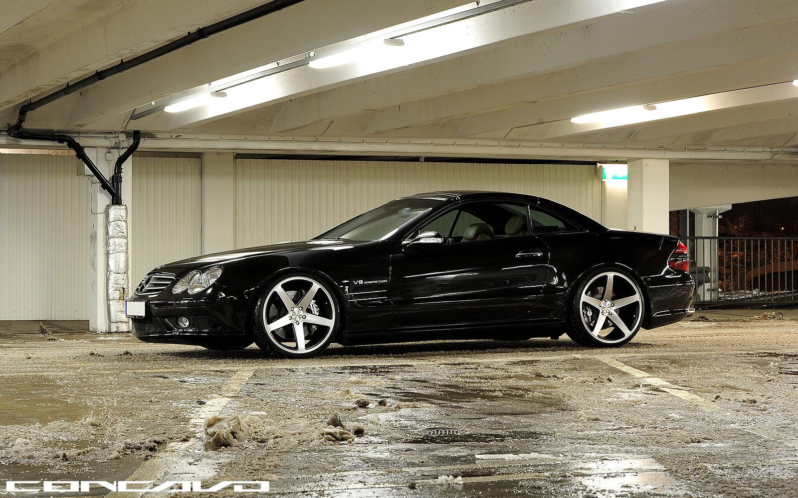 Mercedes Benz San Antonio >> MERCEDES BENZ SL55 AMG ON CONCAVO CW-5 - MBWorld.org Forums