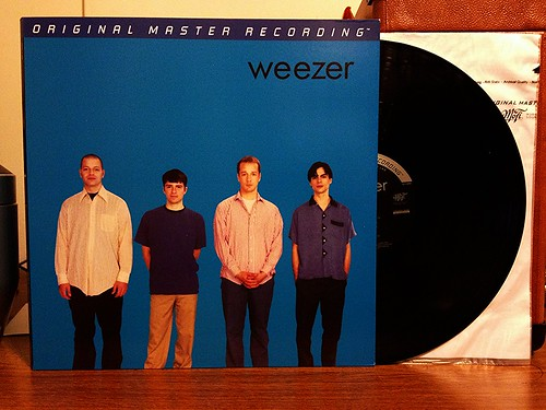 Weezer - The Blue Album - Mobile Fidelity Sound Lab LP by Tim PopKid