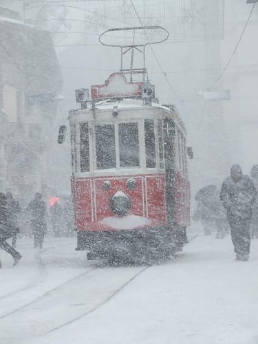 Isztambul télen