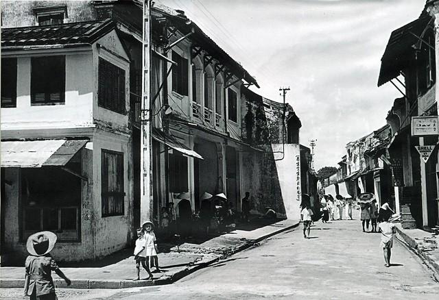 Hội An 1952 - Đường Nguyễn Thái Học