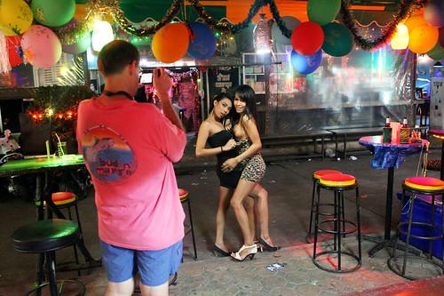 ladyboy bars Phuket, Thailand