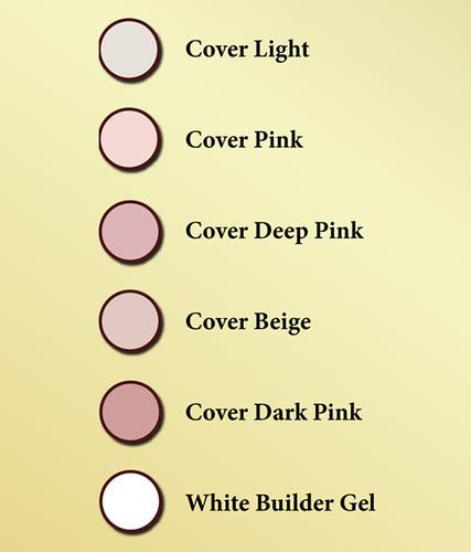colour table gels