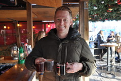 Mulled wine at Theresienwiese christmas markets