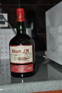 Rum przywieziony z podróży po Karaibach