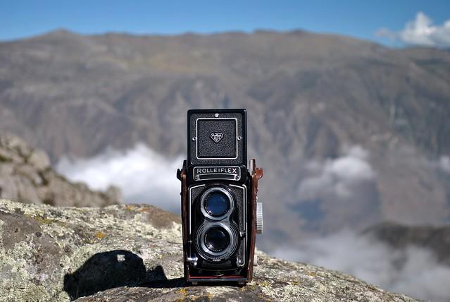 Lima en rollo: Rolleiflex Model K8 T2