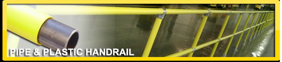 Pipe & Plastic Handrail