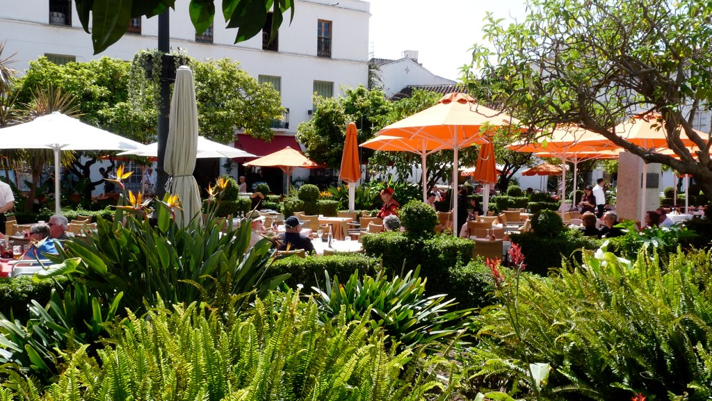 Marbella Plaza de los Naranjos (Orange Square)