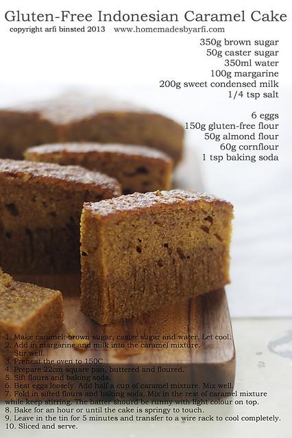 Gluten-Free Indonesian Caramel Cake