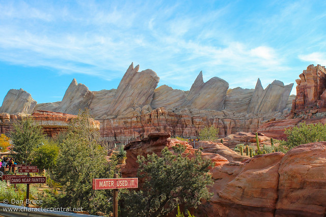 Wandering thru Cars Land