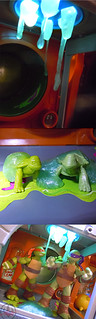 Nickelodeon  TEENAGE MUTANT NINJA TURTLES :: MUTAGEN OOZE xx  / BONUS MINI TURTLES MIKE & DON  (( 2013 ))