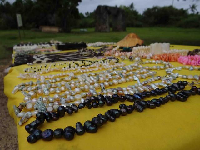 Homemade Jewelry at Ha'amonga 'a Maui
